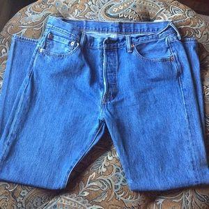 Levi's, 501 W34 L30 Original fit blue jeans